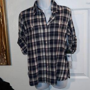Lauren Ralph Lauren Jeans Co. Flannel Shirt